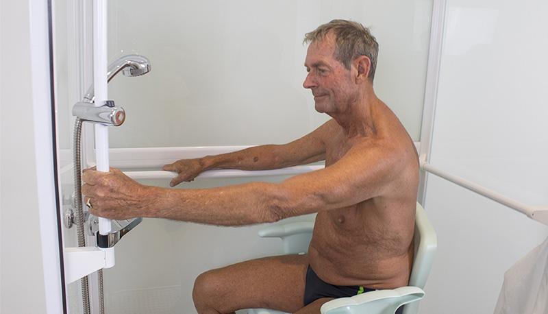 WMO Ergotherapie veilig douchen